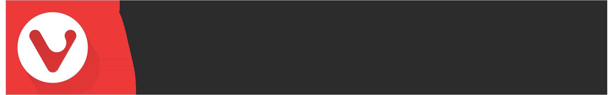 Vivaldi Logo horizontal